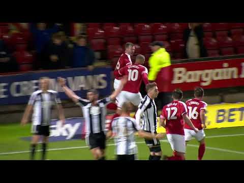 Crewe Alexandra 2-0 Notts County: Sky Bet League Two Highlights 2017/18 Season
