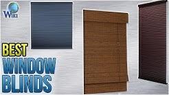 10 Best Window Blinds 2018