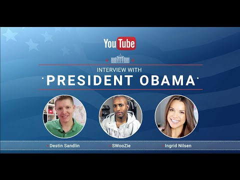 Announcing the YouTube Interview With President Obama