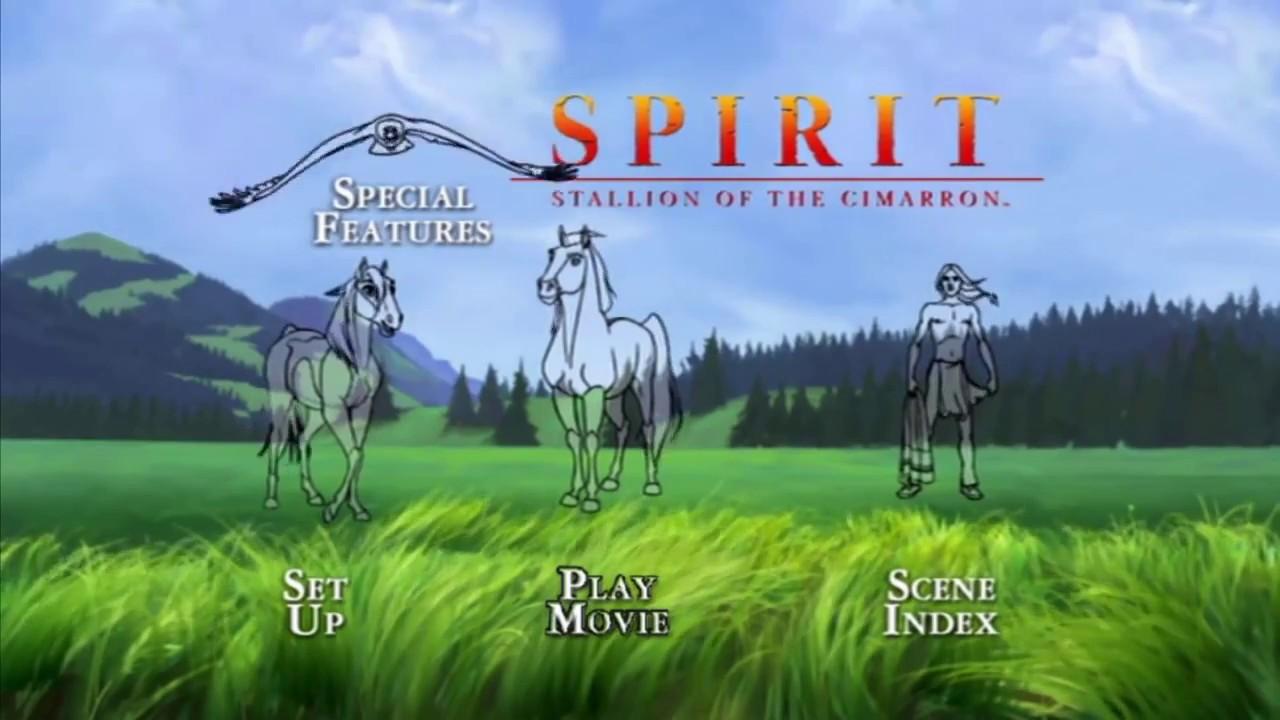 Download Spirit: Stallion of the Cimarron MENU DVD HD (2002)