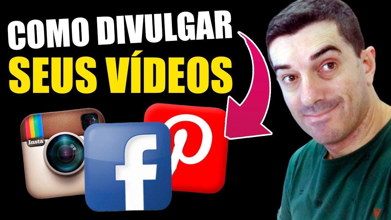 A MELHOR Forma de DIVULGAÇÃO de vídeos  SEM BLOQUEIOS no Facebook Pinterest Instagram 2020