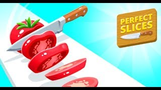 Perfect Slices Full Gameplay Walkthrough All Levels