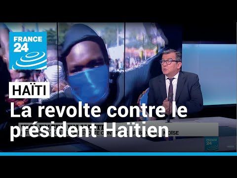 Le cri de révolte contre le président Jovenel Moïse s'intensifie en Haïti