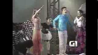 SANDY E JUNIOR 2000 - SHOW AS 4 ESTAÇÕES (Festa de peão de boiadeiro)
