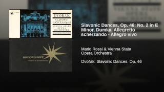Slavonic Dances, Op. 46: No. 2 in E Minor, Dumka. Allegretto scherzando - Allegro vivo
