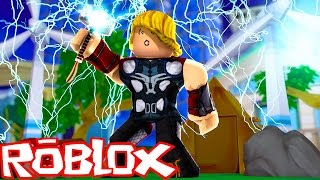 Roblox: A FÁBRICA DO THOR RAGNAROK !! - (Superhero Tycoon)