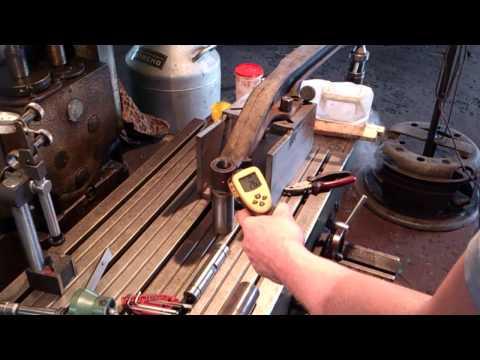 Реставрация рулевой балки по шкворням!