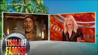 L'isola dei famosi -  Raz Degan sfida Alessia Marcuzzi