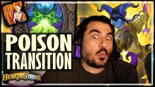 THE POISON TRANSITION! - Hearthstone Battlegrounds