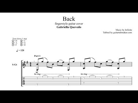 infinite back tab fingerstyle guitar tab pdf guitar pro youtube. Black Bedroom Furniture Sets. Home Design Ideas