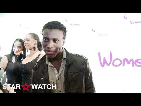 Amadou Ly red carpet  at BraveHeart Women Awards