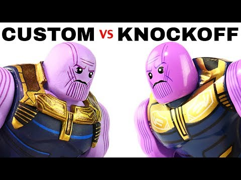 LEGO Avengers: Custom THANOS Vs. Knockoff Version