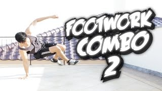 Bboy Tutorial I How to Footwork Combo 2 I
