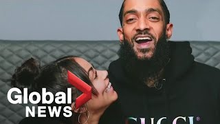 Nipsey Hussle funeral: Tribute video to late rapper