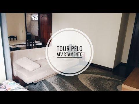 Tour pelo nosso apartamento novo  Universo Duplo