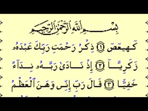 Surat Maryam baik untuk ibu hamil