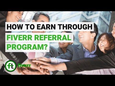 Make Money On Fiverr Not Selling Anything - Fiverr Affiliate Program