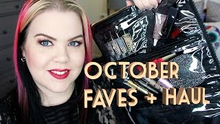 October Favorites, Haul and Chat