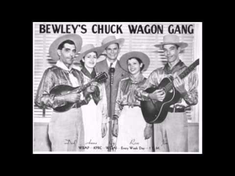 The Original Chuck Wagon Gang - Mississippi Valley Blues (Alternate) - (1937).