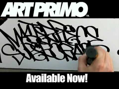 Previously banned video-Huge Tags: Molotow Masterpiece from artprimo.com