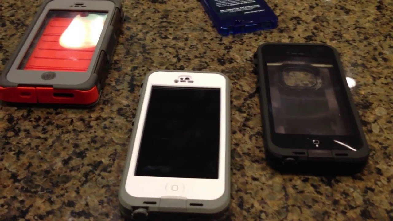 pick up 47f95 b4358 Should I Buy the Lifeproof NUUD iPhone 5 case? vs. Fre vs. Otterbox Armor  Series