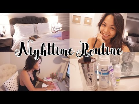 My Nighttime Routine (skincare and all) | Charmaine Dulak