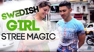 Learn Easy Magic: Street Magic To Swedish Girl! | Free Magic Tricks