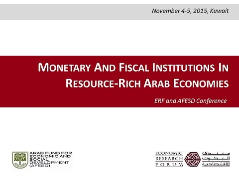 Fiscal Institutions and Macroeconomic Management in Arab Oil Exporters – Jeffrey Nugent