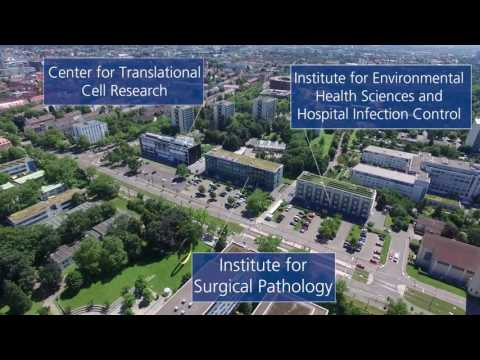 Medical Center - University of Freiburg - View from Above