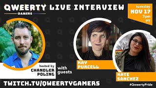 Qweerty Q&A w/ Kay Purcell and Kate Sanchez