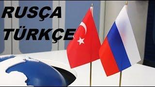 Rusça Türkçe 100 kelime
