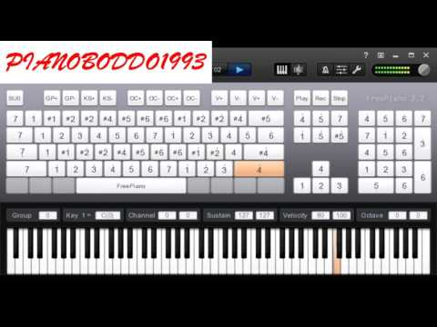 kun anta (be yourself) piano tutorial   تعليم عزف كن انت حمود الخضر بيانو