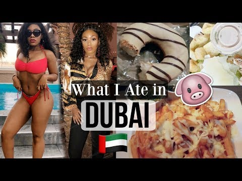 WHAT I EAT IN A DAY ON VACATION IN DUBAI | FULL DAY OF EATING VLOG