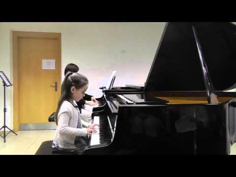 Shani Kapelyushnik (5 y.o.) - Berkovich - Piano Concerto No.2