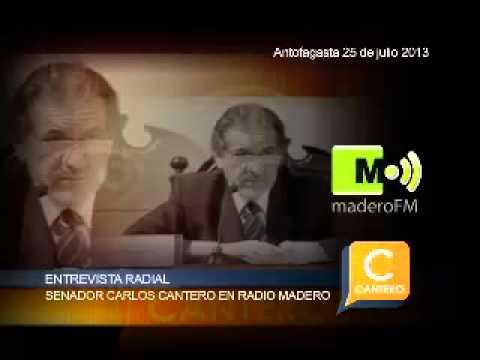 SENADOR CARLOS CANTERO EN Radio Madero LARGO