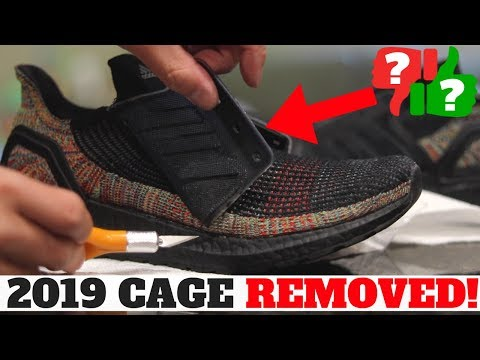 CUSTOM UltraBOOST 2019: CAGE REMOVAL & BLACKOUT BOOST Tutorial!