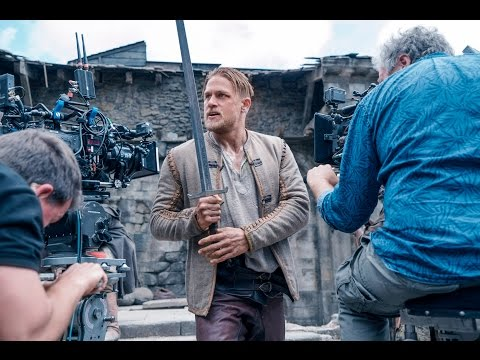 Behind The Scenes on King Arthur Legend of the Sword (Movie B-Roll & Bloopers) + Movie Clips