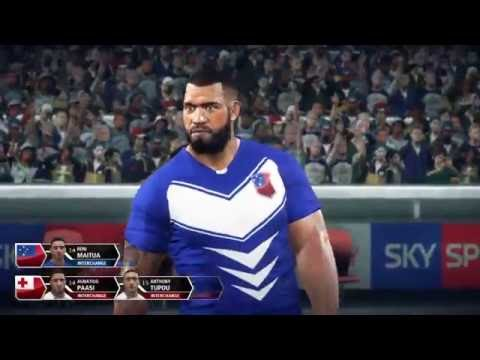 Rugby League Live 3 - Roosters Career (Tonga vs Samoa)