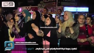 مصر العربية |  تظاهرات بسوسة لحركة النهضة والمجتمع المدني تنديدا بالارهاب