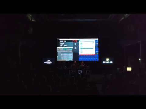 BeamLab 2016: Stage lights sync software presentation by Noisia