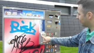 Автомат по продаже сигарет. Как купить сигареты на улицах Германии. 14.09.2014(, 2014-09-14T15:58:51.000Z)