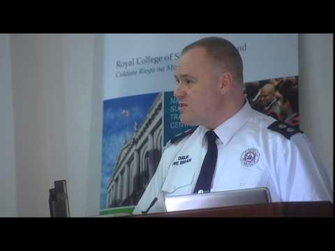 RCSI MiniMed Open Lecture Series 2012/2013 - Dublin Fire Brigade paramedic insight