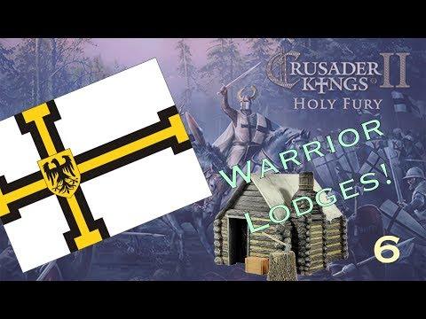 Warrior Lodges, Pagan Societies! - Crusader Kings 2 Holy Fury Dev