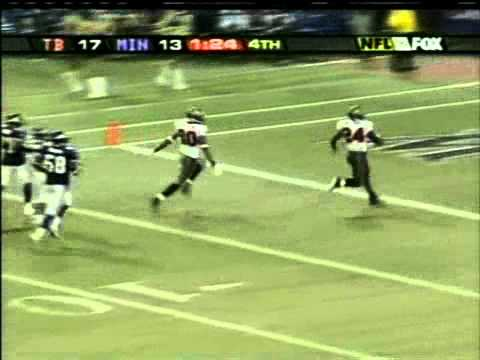 Cadillac Williams TD vs Vikings 2005
