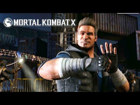 Mortal Kombat X - Cage Family Trailer