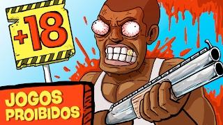 20 JOGOS QUE FORAM PROIBIDOS! (ft. Jack - Bunka Pop)