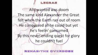 Lecrae - Chase That (Ambition) WITH LYRICS