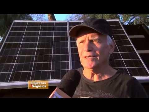 ENERGIA SOLAR - Após investir R$ 40 mil, empresário fatura R$ 300 mil