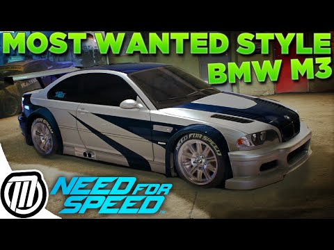 Need For Speed 2015 Most Wanted Bmw M3 Gtr Customization Gameplay Guide 1080p