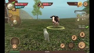Dog sim/ симулятор собаки #2 убил злую корову